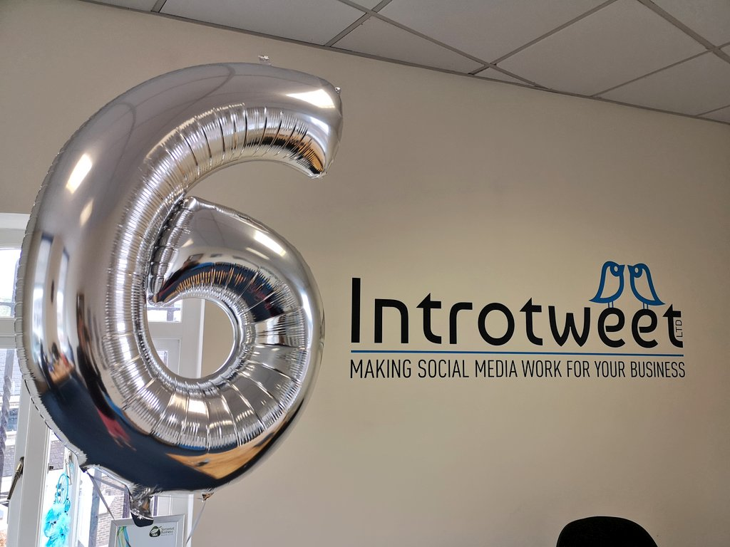 Introtweet celebrate their 6th Birthday!